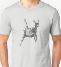Geometric Leaping Deer T-Shirt