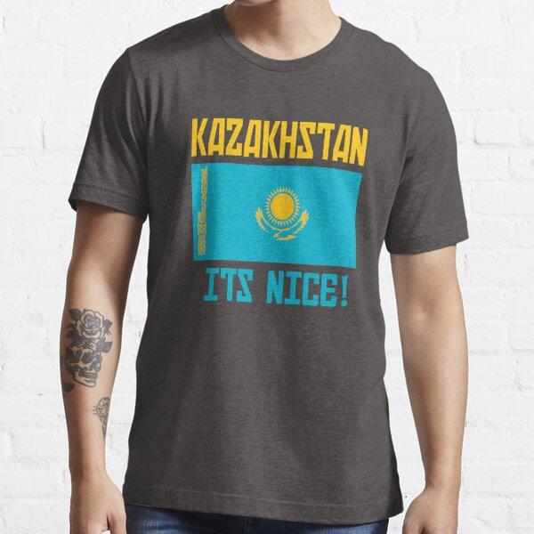 Kazakhstan Its Nice! Borat Essential T-Shirt
