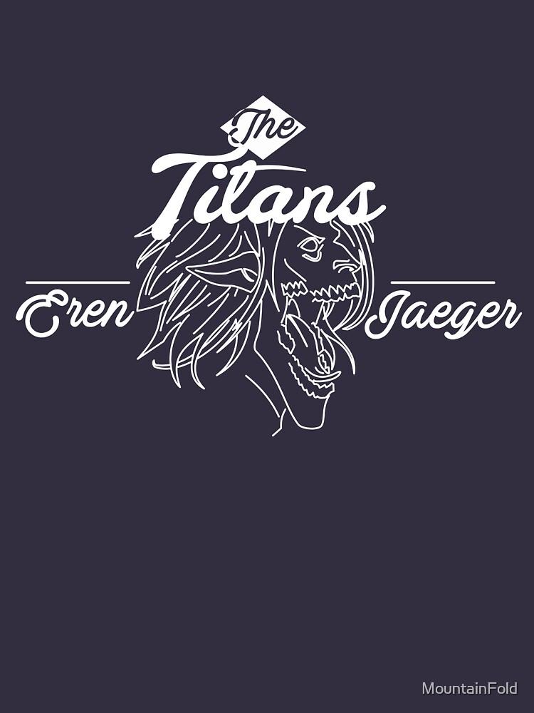 Attack on Titan - SAWNEY - Eren Jaeger by MountainFold