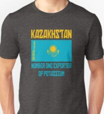 Kazakhstan - Number One Exporter Of Potassium - Borat T-Shirt