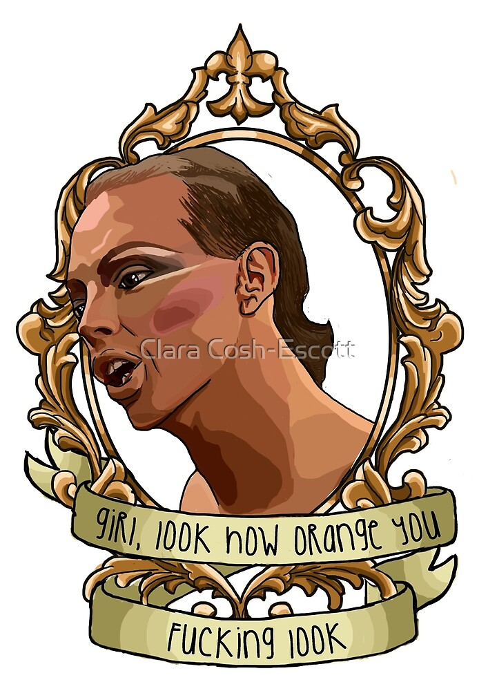Alyssa Edwards look how orange  by coshillustrates