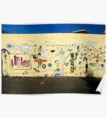 Stencil Wall Poster