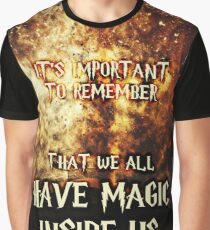 Magic Book Quote Graphic T-Shirt