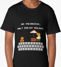 Sorry Mario the men's room is in another castle Long T-Shirt