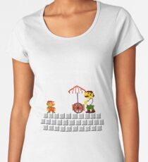 Sorry Mario the men's room is in another castle Women's Premium T-Shirt
