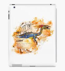 Compsognathus iPad Case/Skin