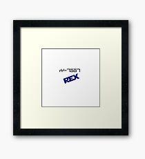 CC-7567 Capt. Rex Framed Print