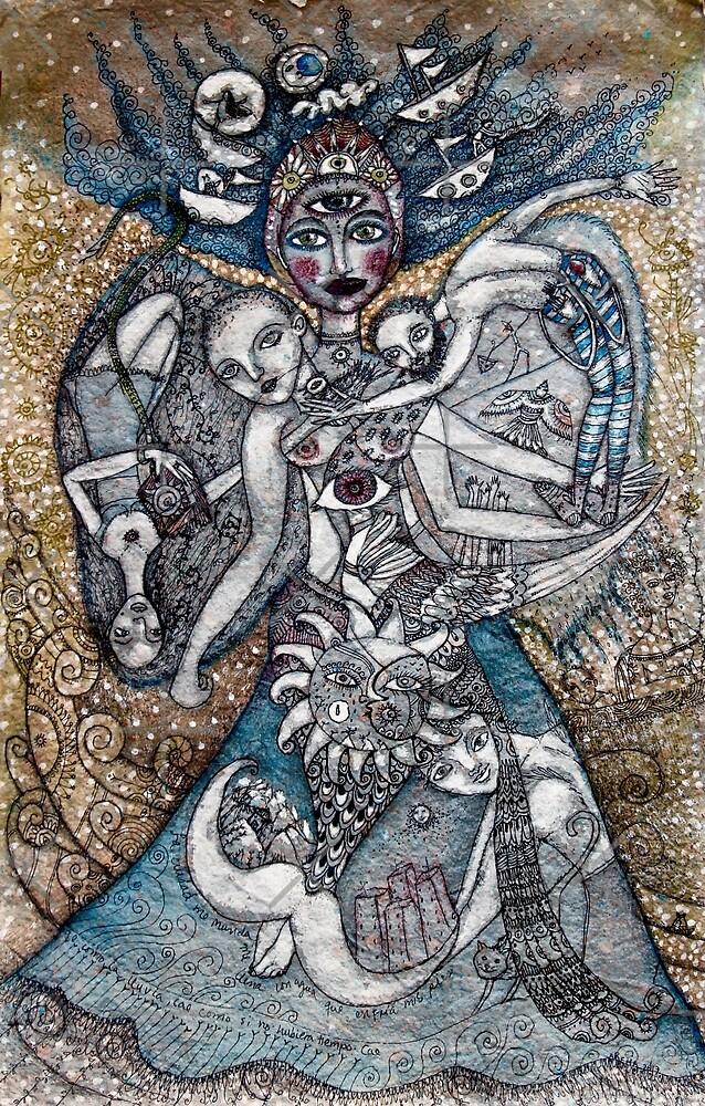 Ofrenda a los siete mares   by Arema Arega