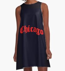 Chicago, Chicago, CHICAGO! A-Line Dress