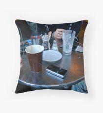 Coffee Table Newtown Throw Pillow