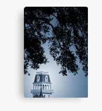 Tower under Towering Trees Canvas Print