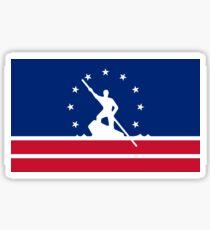 Flag of Richmond, Virginia Sticker