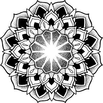 """August"" Sacred Geometry Mandala by zkorvin"