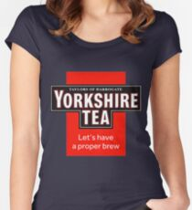 Yorkshire Tea Women's Fitted Scoop T-Shirt