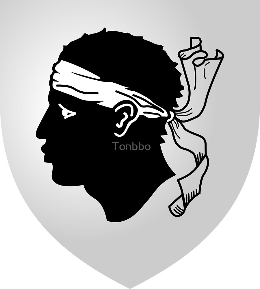 Corsica Coat of Arms by Tonbbo