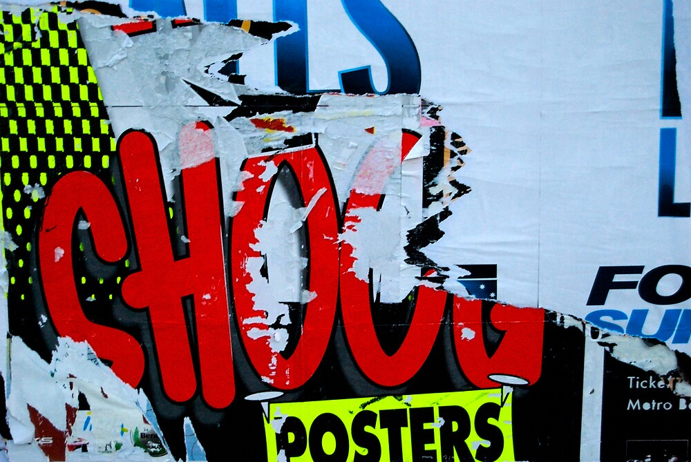 Shout Pop - Street Poster 06 by tano