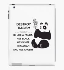 Destroy Racism, We Can DO IT! iPad Case/Skin
