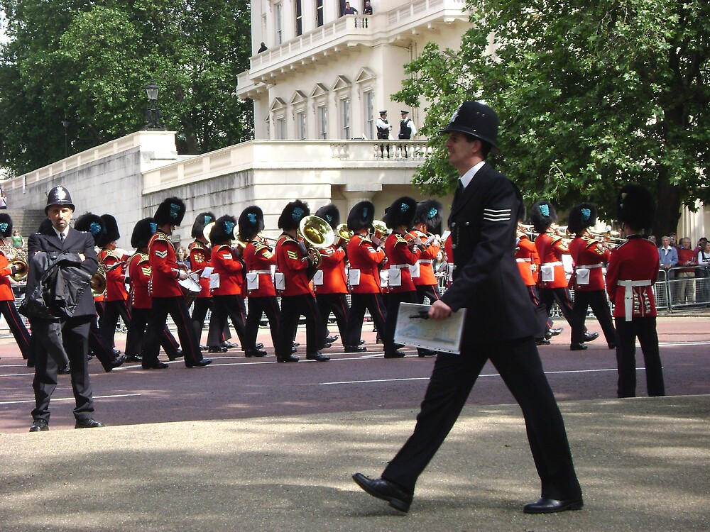Trooping the Colours by Amanda  Brauner