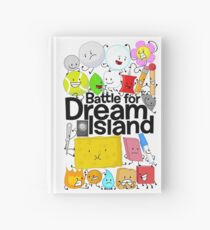 BFDI Poster White Hardcover Journal