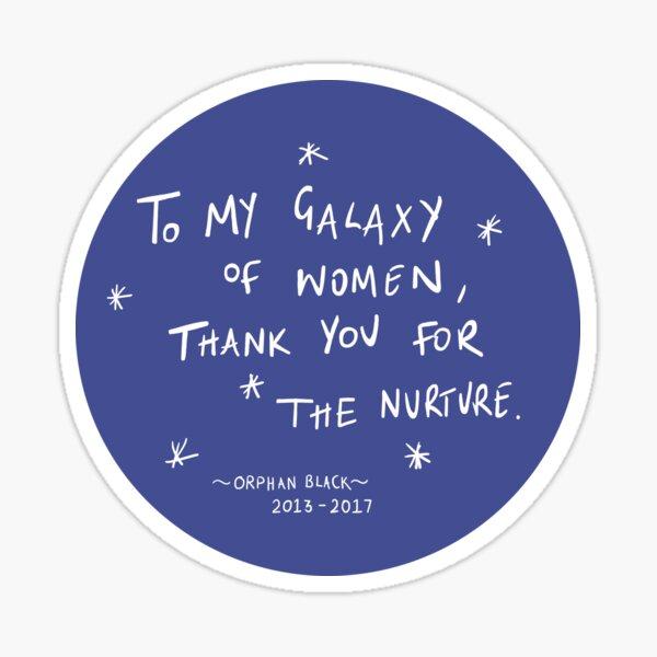 Galaxy of Women - Orphan Black Sticker