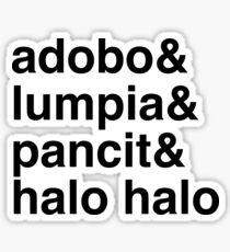 Filipino Favorites Sticker