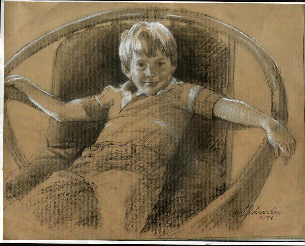 Jake's Portrait by Josef Rubinstein