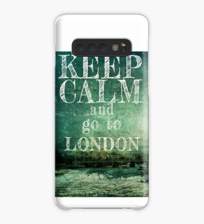 Keep calm and go to London Case/Skin for Samsung Galaxy