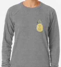 Tumblr Ananas-Abholung Leichter Pullover
