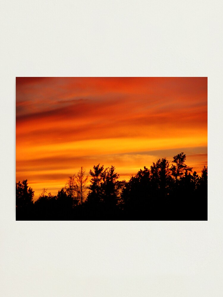 Alternate view of Nature's Watercolor Photographic Print
