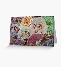 All The Pretty Flowers Greeting Card