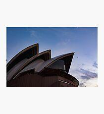 Sydney Opera House at Sunset Photographic Print