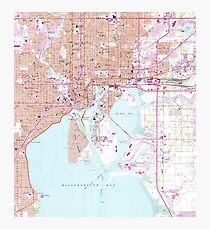Tampa Florida On Map.Historical Tampa Fl Map Photographic Prints Redbubble