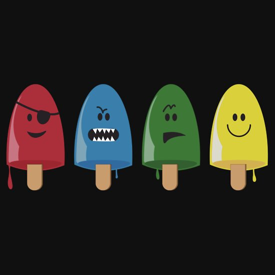TShirtGifter presents: Emotional Range of Popsicles