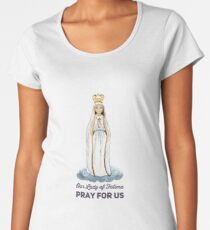 Our Lady of Fatima Women's Premium T-Shirt