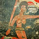 African Women - Graffiti Painting, Ghana, West Africa by Remo Kurka