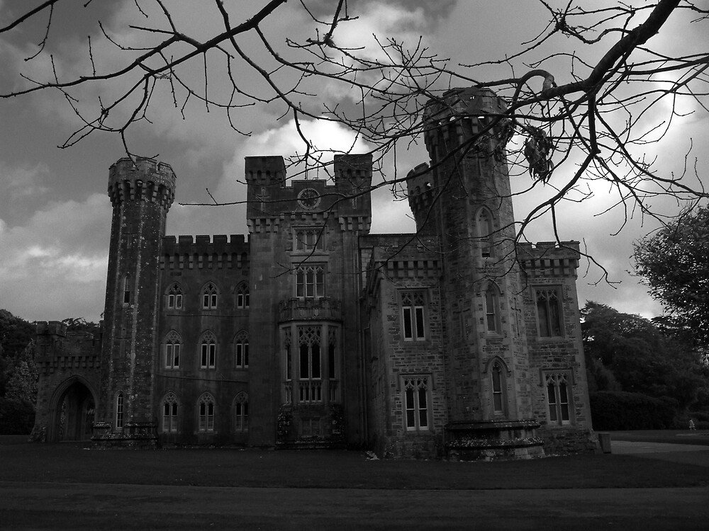 Quot Haunted Castle Quot By John Quinn Redbubble