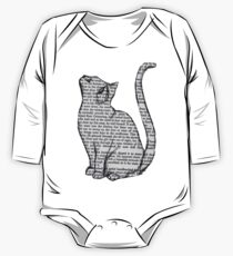 Stationary Cat One Piece - Long Sleeve