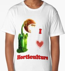 I Love Horticulture Mario Long T-Shirt