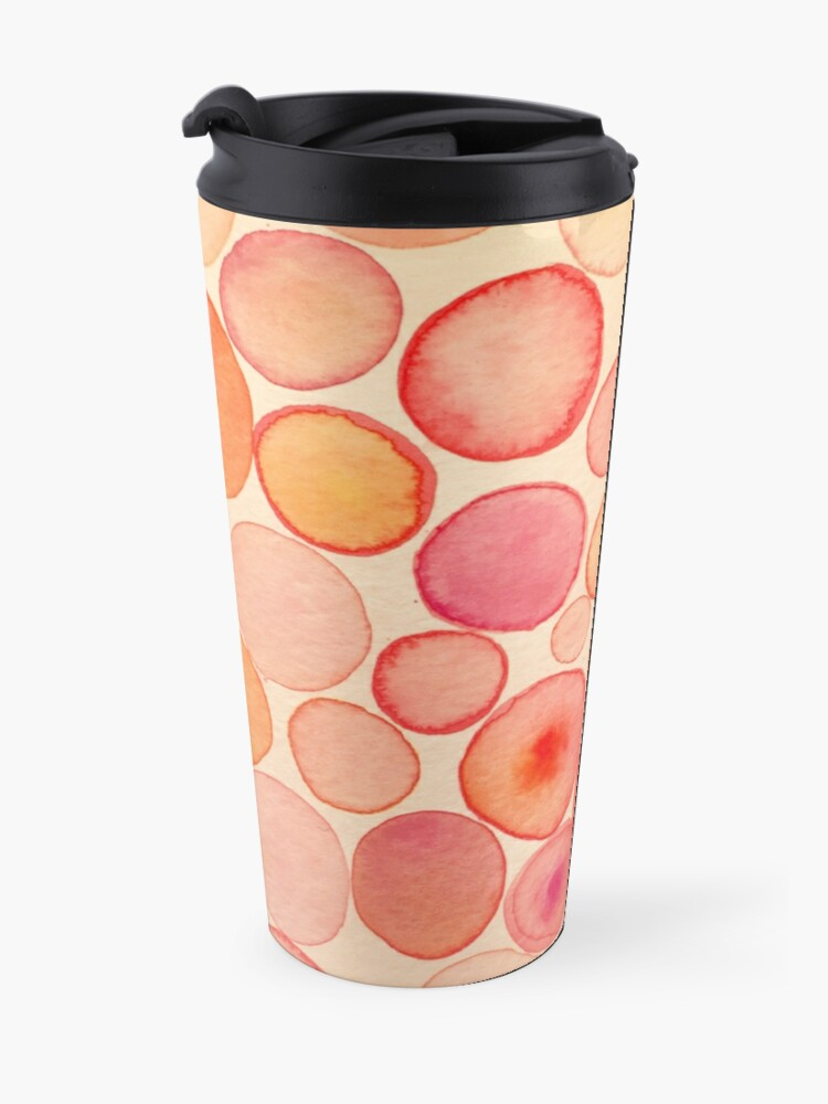Alternate view of Pinky Bubbles Travel Mug