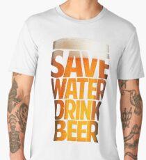 Save Water Drink Beer Men's Premium T-Shirt