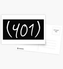 401 Postcards