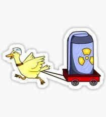 Stewart the Duck Sticker
