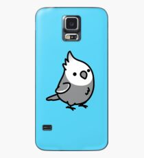 Chubby White Faced Cockatiel Case/Skin for Samsung Galaxy