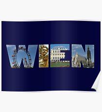 Wien - Österreich Poster