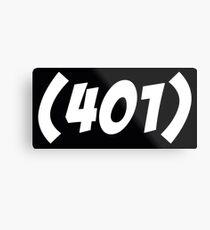 401 Bold Metal Print