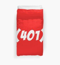 401 Bold Duvet Cover