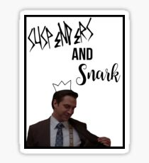 Rafael Barba - Suspenders and Snark Sticker
