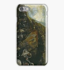 Pilgrimage to the Well of San Isidro (The Inquisition) 1821 - 1823 Francisco Goya iPhone Case/Skin