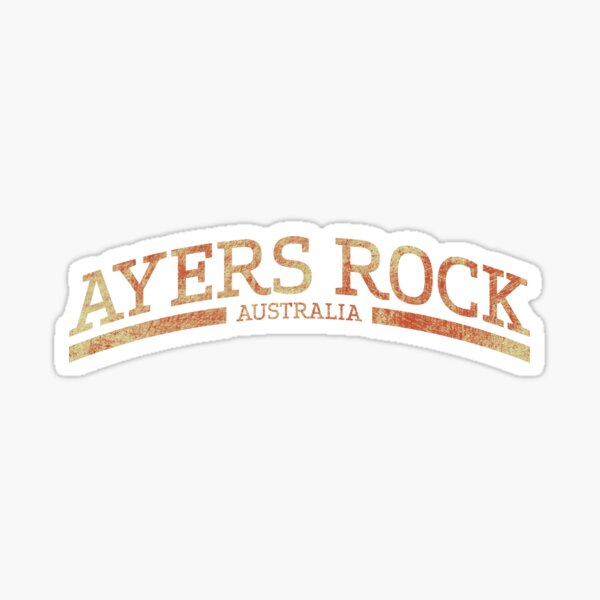 Uluru Ayers Rock Australia Sticker
