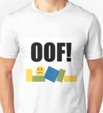 roblox oof unisex t shirt